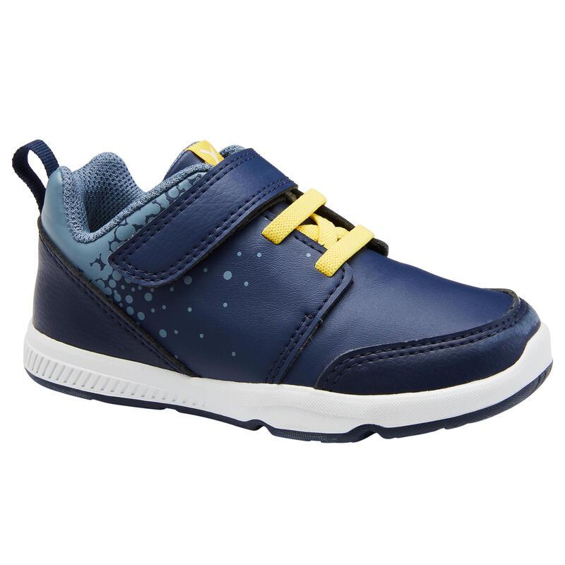 Zapatillas Bebé Primeros Pasos Domyos 550 I Learn azul / amarillo del 25 al 30