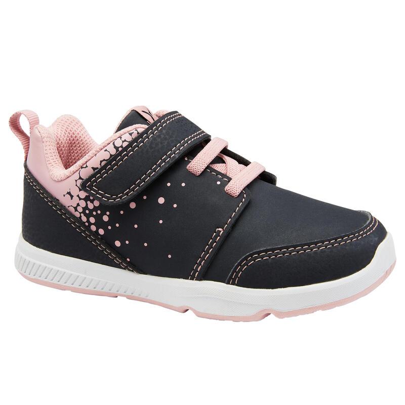 Zapatillas Bebé Primeros Pasos Domyos 550 I Learn grises / rosas del 25 al 30