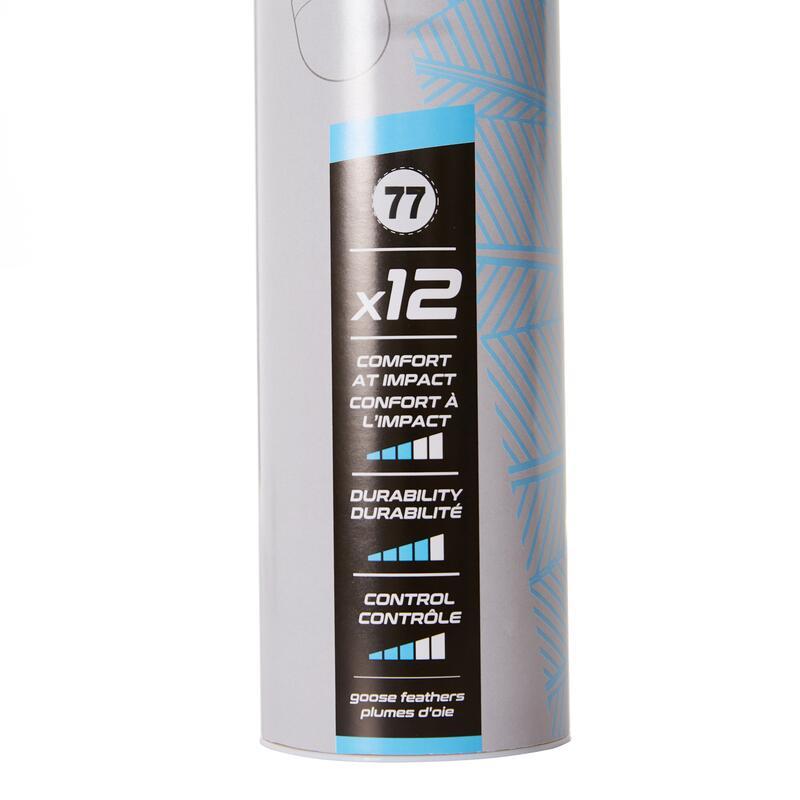 Volant Hybride De Badminton FSC 500 x 12 Vitesse 77