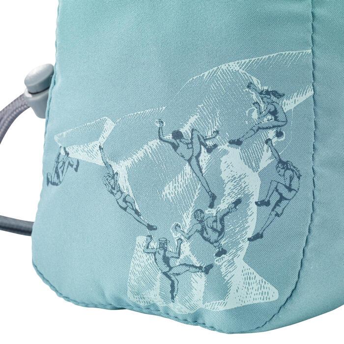 Saco para Magnésio de Escalada Criança - Klimb Junior Azul Cinza