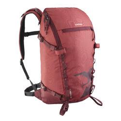 Bergsteiger-Rucksack Alpinism 22 bordeauxrot