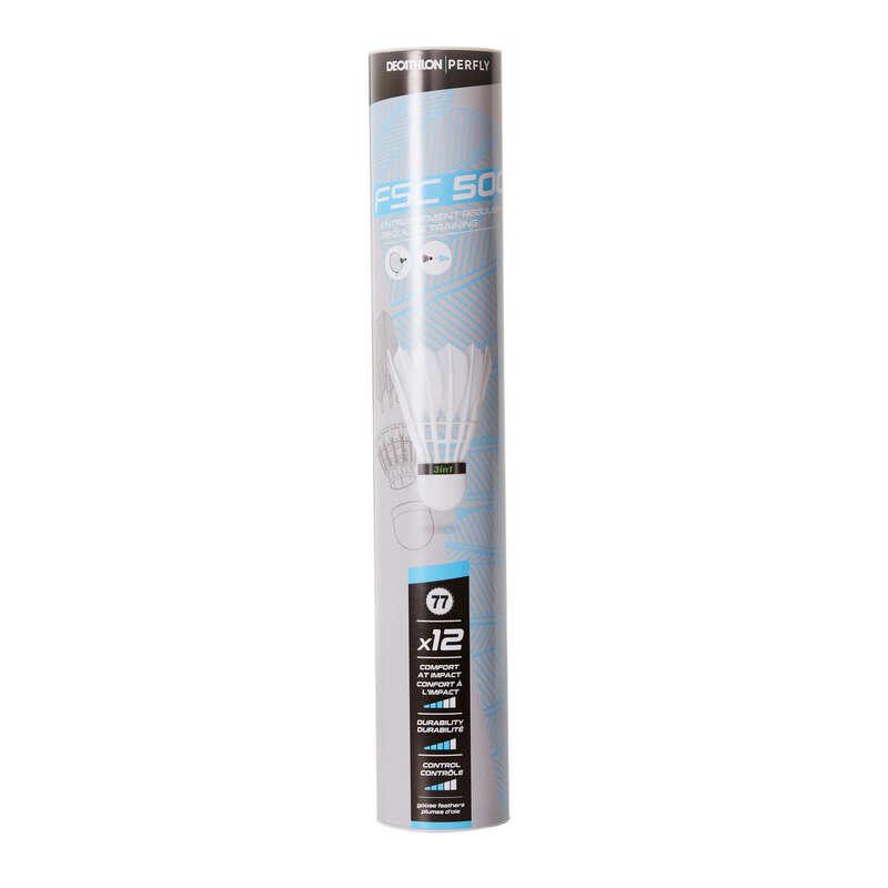 VOLANTS PLUMES Badminton - VOLANTE FSC 500 HYBRID x 77 12 PERFLY - Material de Badminton