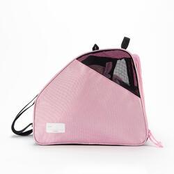 3隔層直排輪收納袋 - 粉色