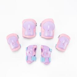 護具3件組Play - 淡紫色