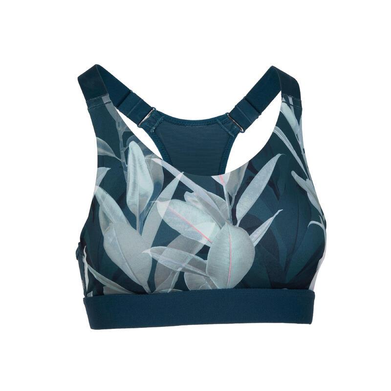 Women's Cardio Fitness Sports Bra 900 - Emerald