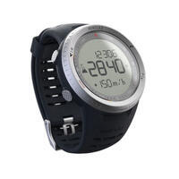 Uhr Höhenmesser Barometer Kompass MW TREK 900 silber
