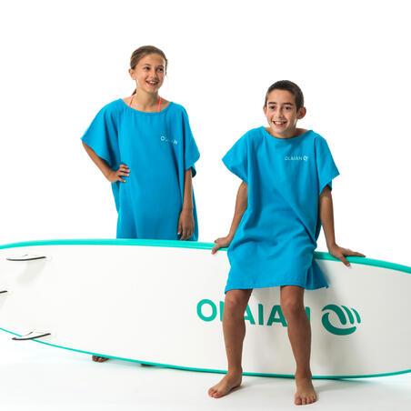 Ponco Selancar Anak 100 (2 Ukuran) - Biru