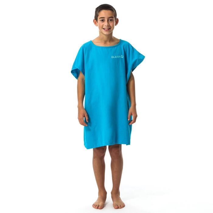 PONCHO SURF 100 JUNIOR (2 tailles) Bleu