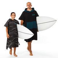 Surf-Poncho 550 Kinder mit 135–160cm Etni