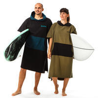 Adult Surf Poncho 500 - Black