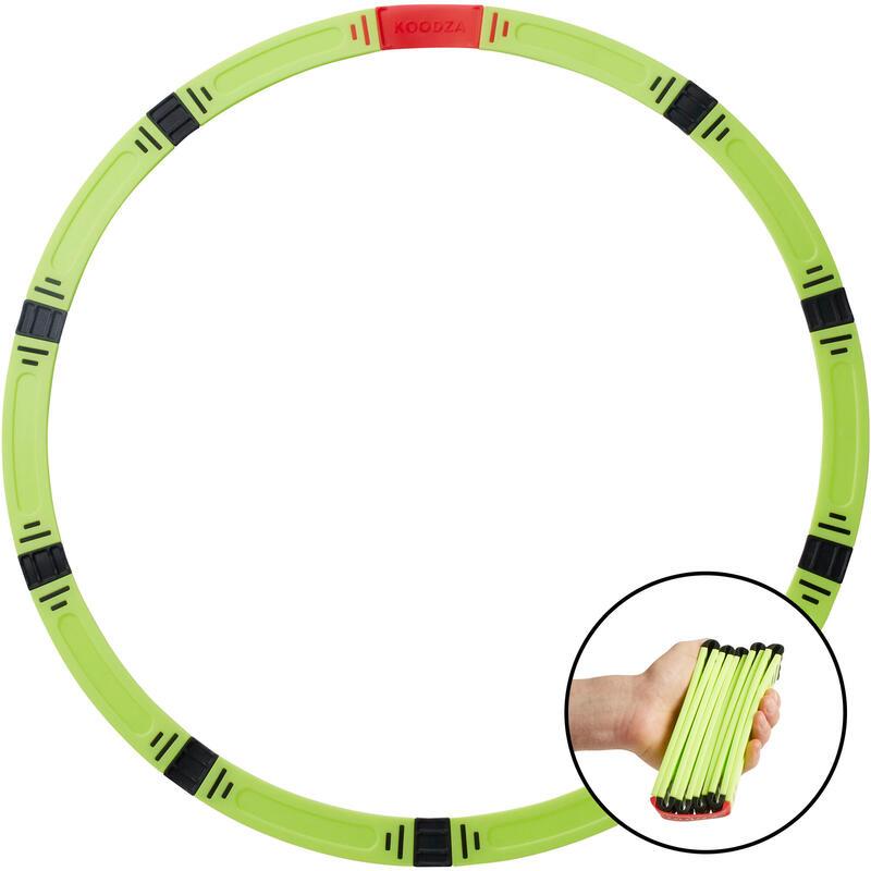 Opvouwbare petanque cirkel