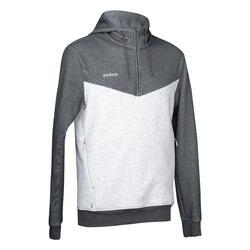 Sweat-shirt de hockey sur gazon homme FH500 gris