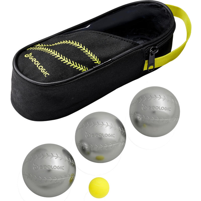 3 DISCOVERY 300 BASE-BALL PETANQUE BOULES