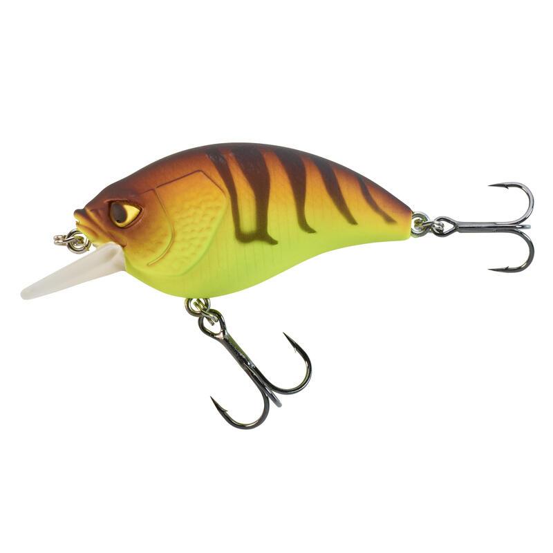 Plug crankbait shallow runner vissen met kunstaas CRKSR 53 F oranje tiger