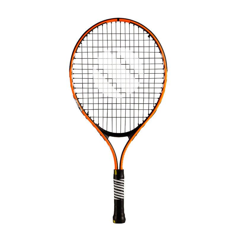 """Tennisracket voor kinderen TR130 21"""" oranje"""
