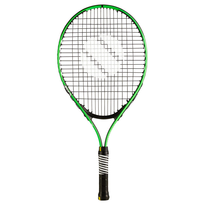 """Tennisracket voor kinderen TR130 23"""" groen"""
