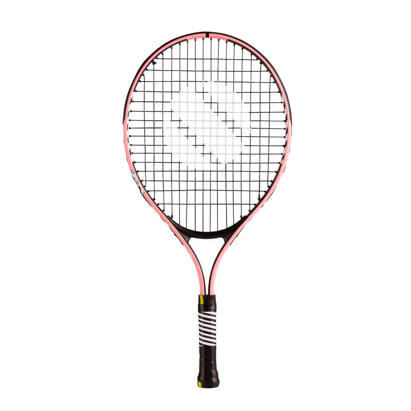 """Tennisracket voor kinderen TR130 21"""" roze"""