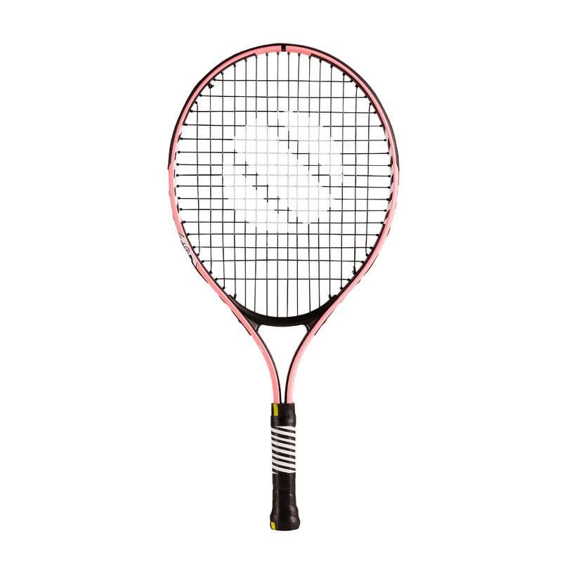 兒童款網球拍TR130 21吋 - 粉紅色