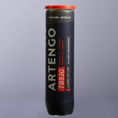Teniso kamuoliukai TB930, 4 vienetai