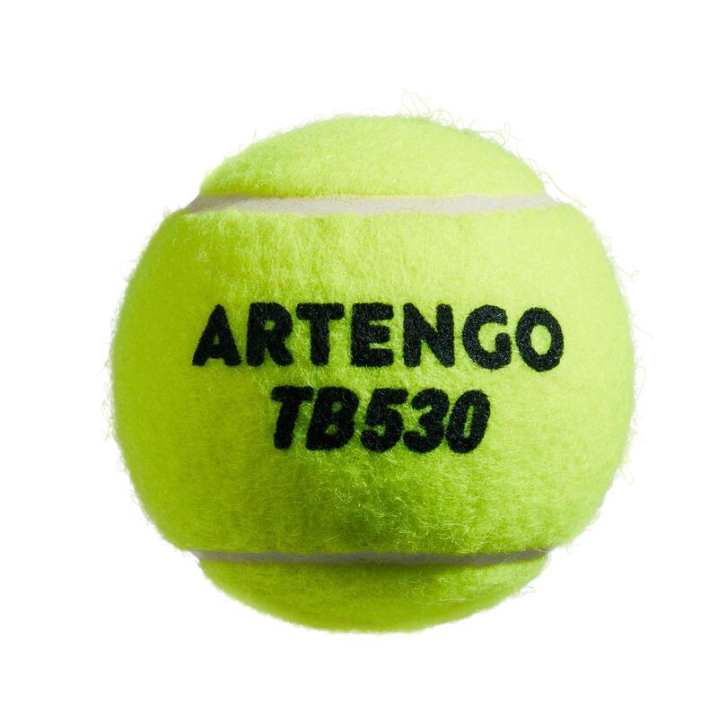 PELOTA DE TENIS TB530 *4 AMARILLA