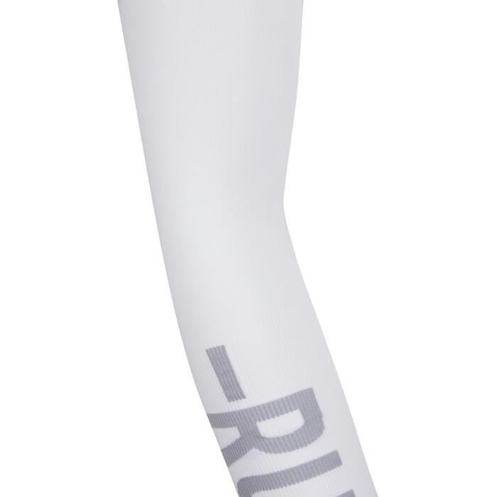 Running Solar Protection Sleeve - White