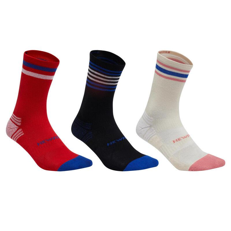 Chaussettes marche sportive/nordique WS 100 Mid Ed. Limitée (3 paires)