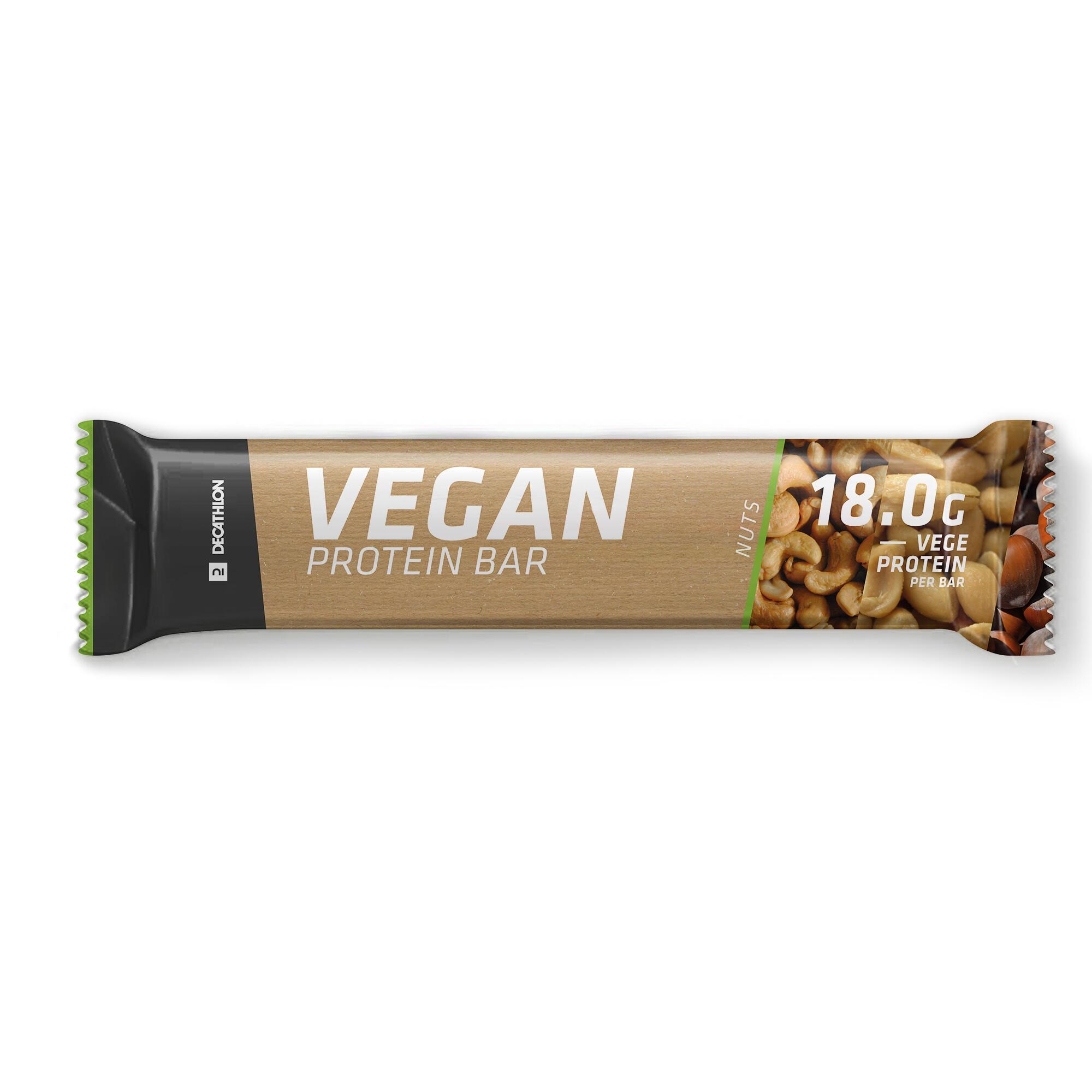 Baton Vegan Protein Alune de la DOMYOS