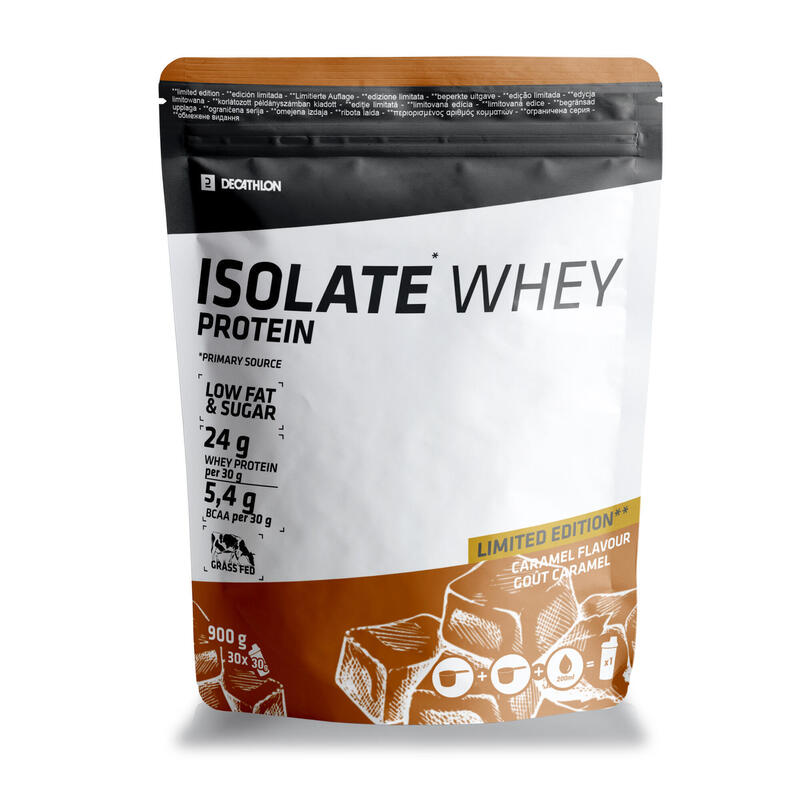 WHEY PROTEIN ISOLATE EDITION LIMITEE CARAMEL 900GR