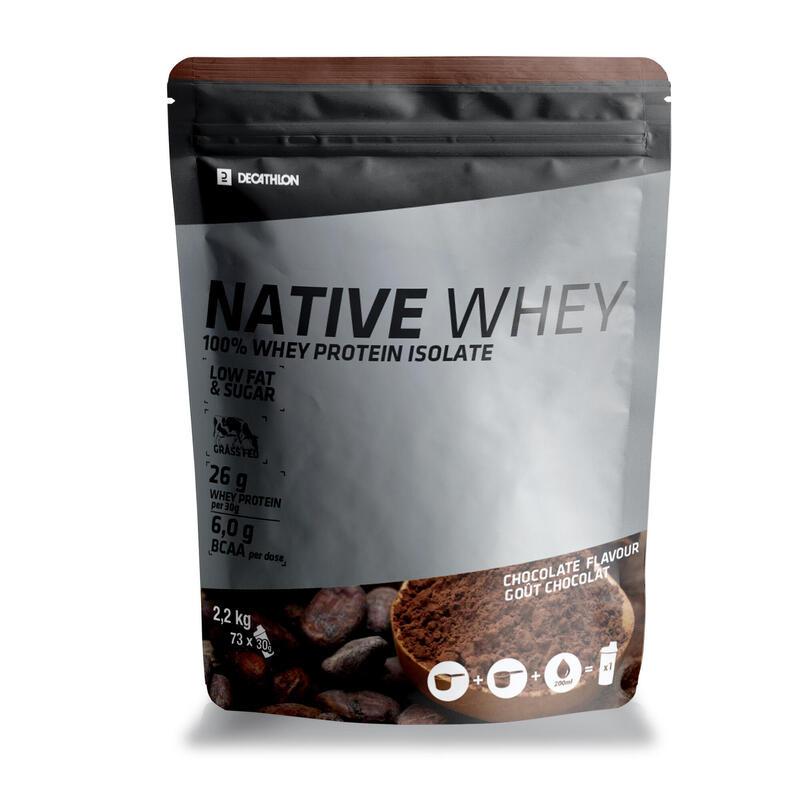 WHEY PROTEIN NATIVE CHOCOLAT 2,2 kg