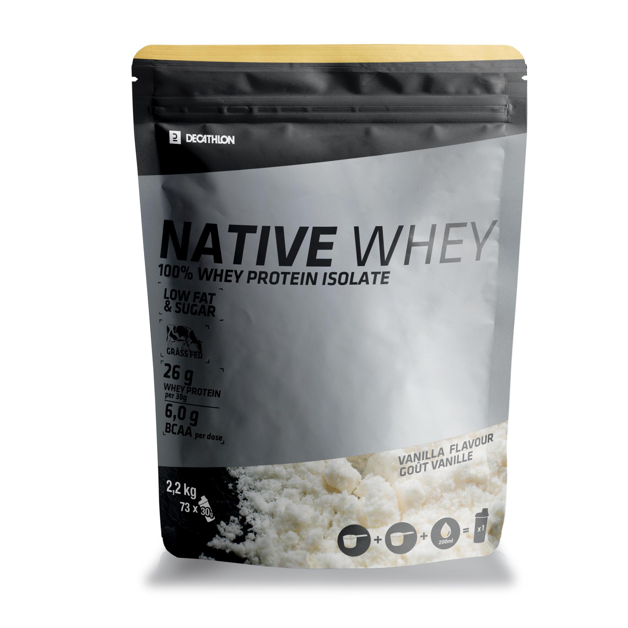 Proteine Whey Native 2.2 Kg de la DOMYOS
