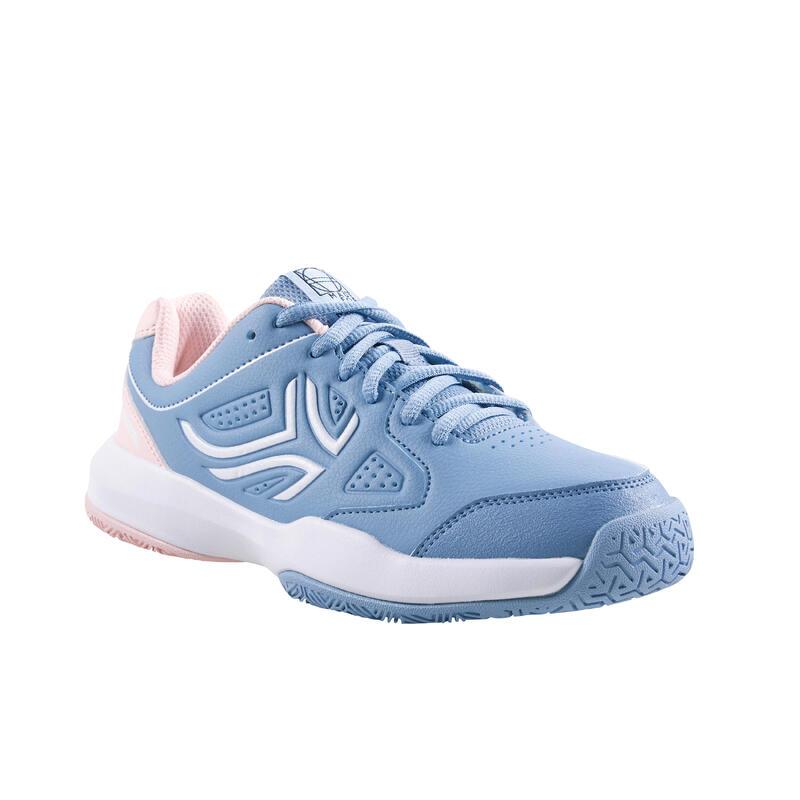 Tennisschoenen voor kinderen TS530 veters blauw/roze