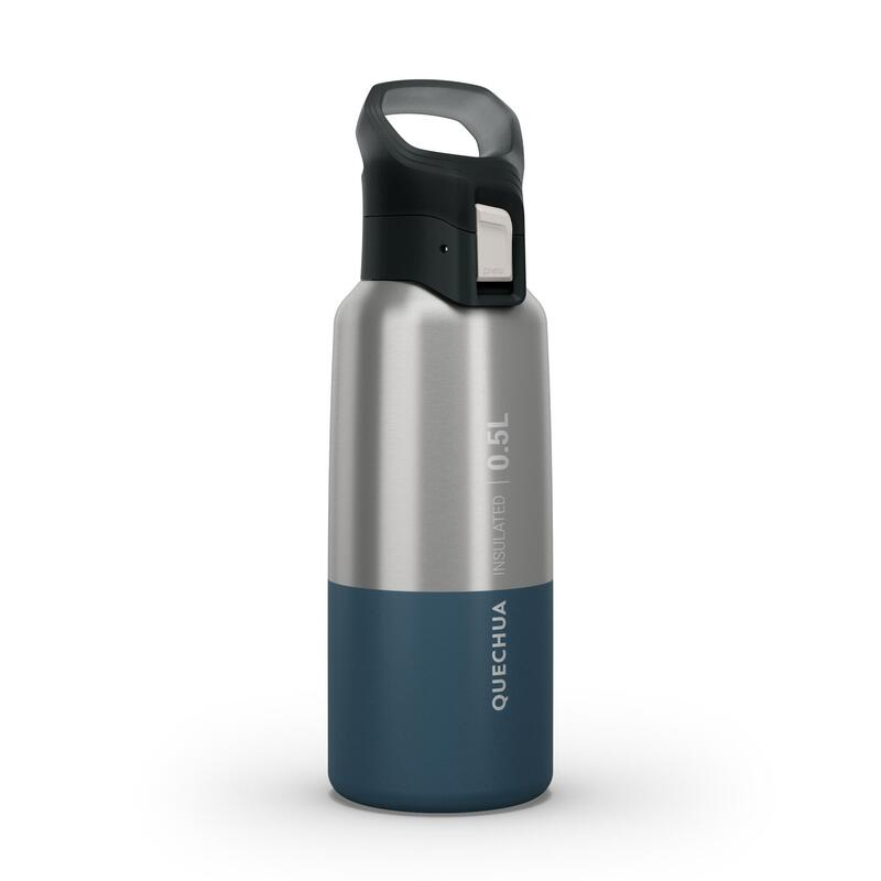 Isothermal Stainless Steel Hiking Flask MH500 0.5 L Blue