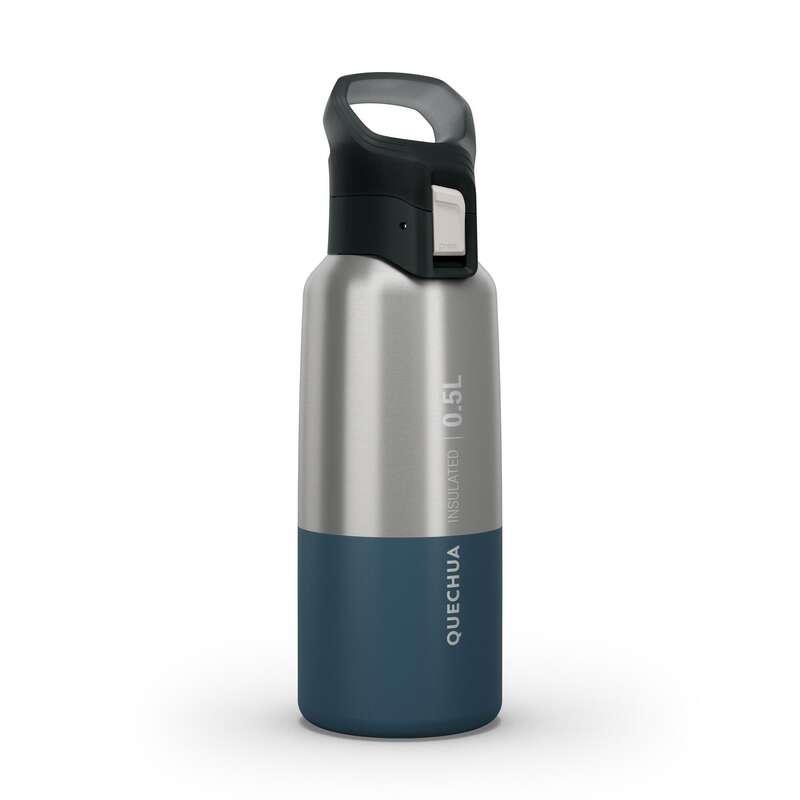 Isolierflaschen, -behälter Wandern Sportnahrung - Trinkflasche MH500 Iso 0,5L QUECHUA - Sportgetränke