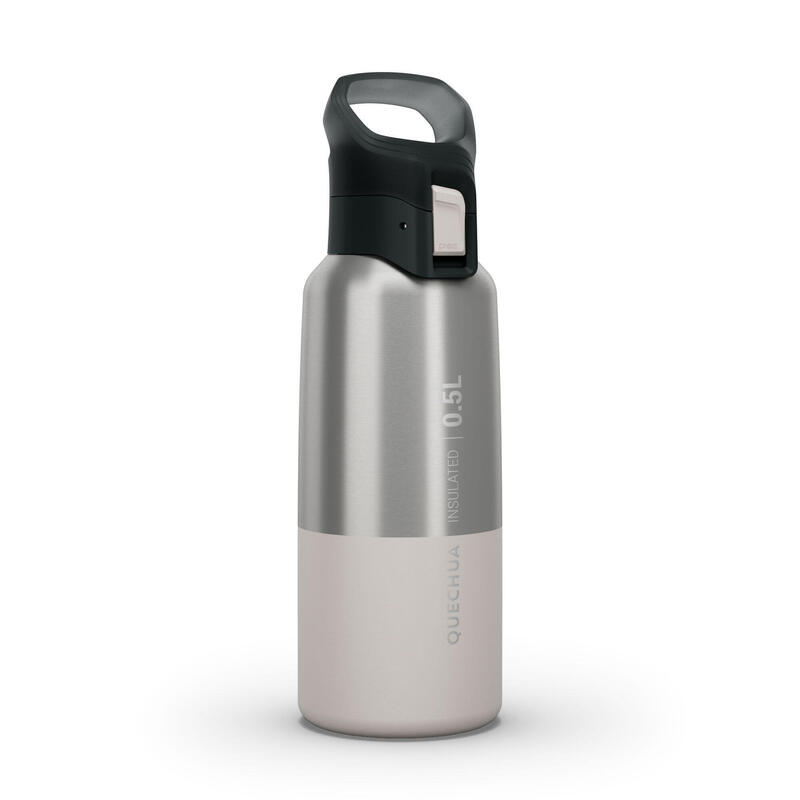 Isothermal Stainless Steel Hiking Flask MH500 0.5 L White