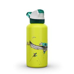 Trinkflasche 900 Aluminium 0,6Liter limitierte Serie Bartgeier gelb