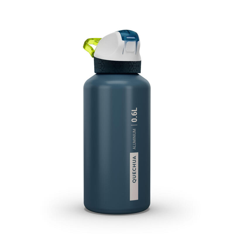 Hiking flask 900 instant lid with straw 0.6 litres aluminium blue