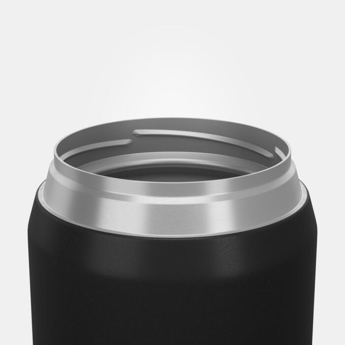 Boîte alimentaire MH500 isotherme randonnée inox 0,5L noir