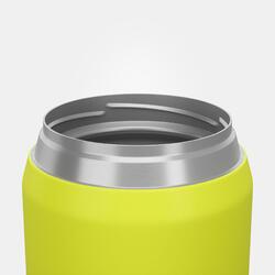 Boîte alimentaire MH500 isotherme randonnée inox 0,5L jaune