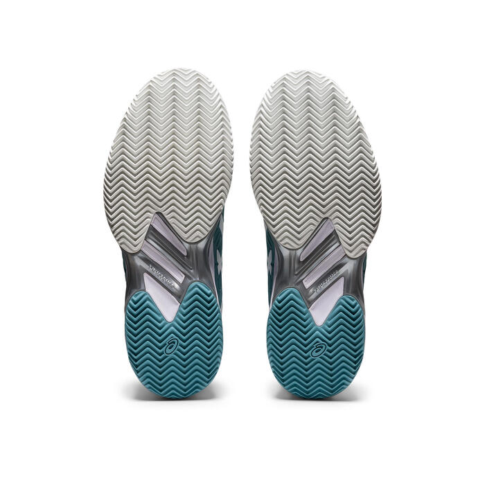 CHAUSSURES DE TENNIS FEMME Solution Speed FF2 Clay Bleue