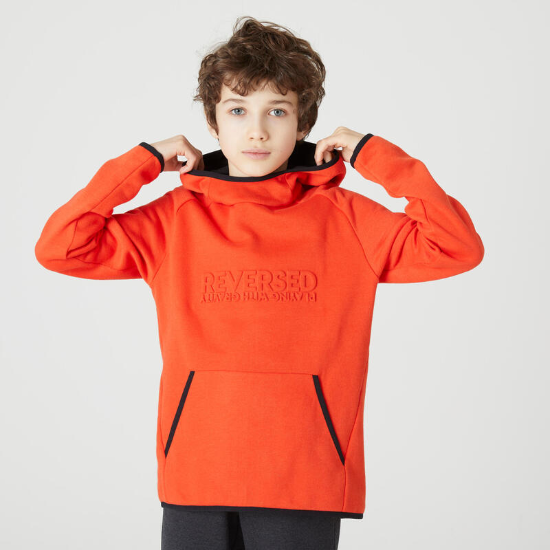 Çocuk Kırmızı Sweatshirt - 100
