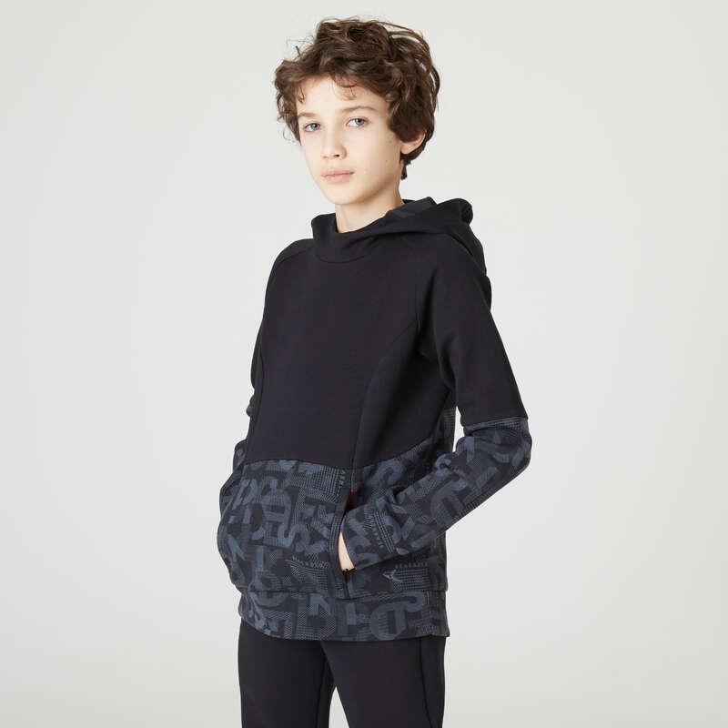 Erkek çocuk - Soğuk hava Jimnastik - 500 KAPÜŞONLU SWEATSHIRT DOMYOS - All Sports