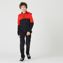 Warm en ademend trainingspak voor kinderen S500 oranje/zwart
