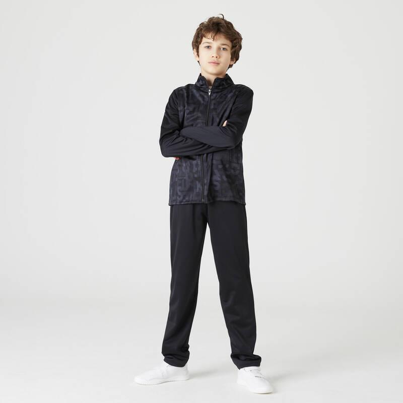 CHLAPECKÉ/PÁNSKÉ SOUPRAVY NA CVIČENÍ Cvičení pro děti - SPORTOVNÍ SOUPRAVA GYM'Y 500 DOMYOS - Dětské oblečení na cvičení