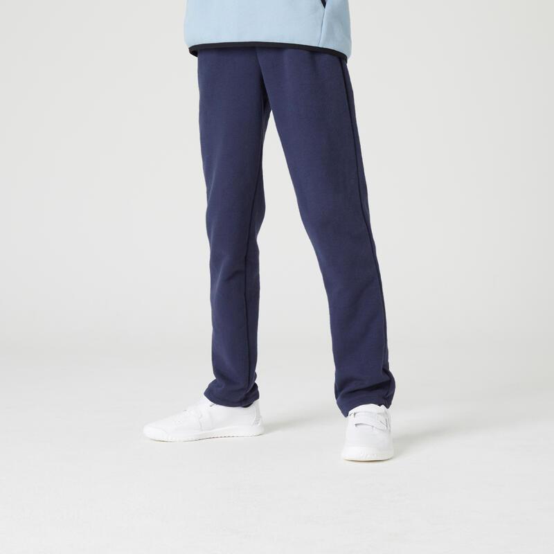 Pantalón jogger cálido básico azul marino NIÑOS