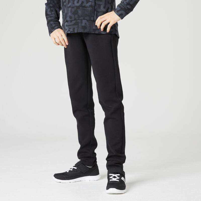 Pantalon de jogging respirant poches zippées enfant noir