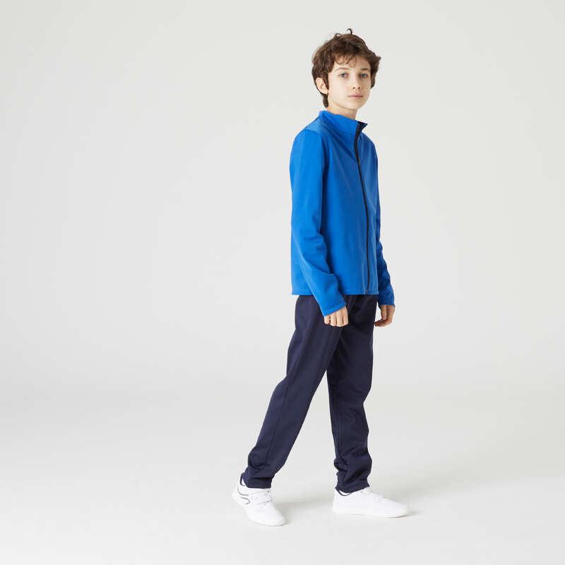 [EN] BOY/MAN LEISURE GYMNASTICS TRACKSUITS Физкультура - Кост тр дыш гим мал син GYM'Y DOMYOS - Одежда для мальчиков