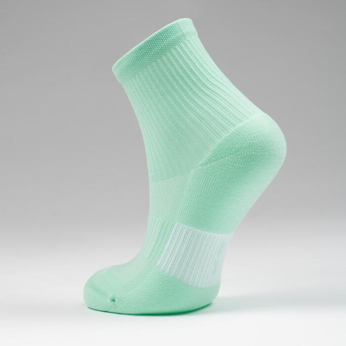 Kids' Athletics Socks AT 300 Comfort 2-Pack - striped and plain pink