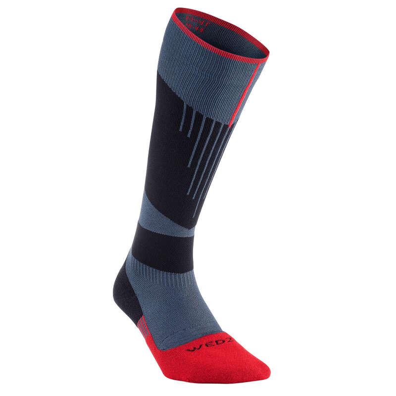 Şosete schi adulți Incaltaminte - Șosete de schi 580 Albastru  WED'ZE - Accesorii