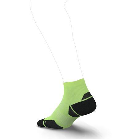 RUN900 MID FINE RUNNING SOCKS - YELLOW