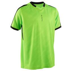 Camisola de Manga Curta de Futebol F520 Criança Verde Néon
